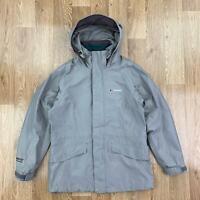 BERGHAUS Womens GORETEX PERFORMANCE SHELL Jacket | Waterproof Coat | UK 10 Brown