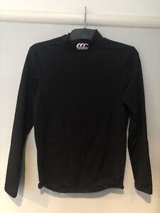 Canterbury Mens Black Long Sleeve Base Layer Size M