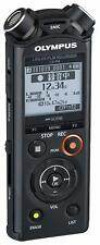 OLYMPUS Linear PCM Recorder LS-P4 BLACK Telephone Pickup Recording NEW