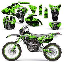 Yamaha Graphic Kit YZ250F YZ450F MX YZ 250 450 F Dirt Bike Decal 03-05 REAP GRN