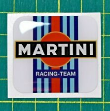 Martini Racing Domed Vintage Motorsport Sticker - 3
