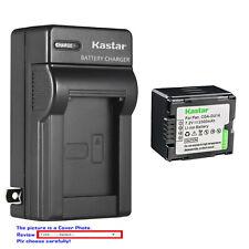 Kastar Battery Wall Charger for Panasonic CGR-DU14 CGA-DU14 & NV-GS230 NV-GS250
