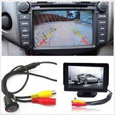"4.3"" TFT LCD 480 x 272 Car Rearview Monitor + 420 TV Lines Backup Parking Camera"