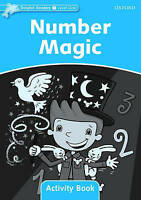 Dolphin Readers Level 1: Number Magic Activity Book by Wright, Craig, NEW Book,