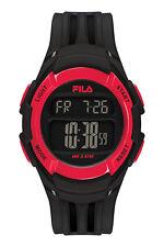 FILA ACTIVE 38-048-001 Uhr Armbanduhr Sport Uhren Jogging Fitness Rot Unisex