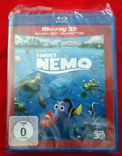 Findet Nemo - Walt Disney Pixar 2D / 3D - 2 Disc Blu-Ray - 2013 - NEU