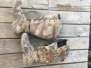 "RED WING IRISH SETTER 1873 Waterproof ScentBan Snake Guard 17"" Camo Hunt Boot 10"