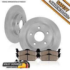 Rear 266 mm Premium OE Brake Disc Rotors and Ceramic Pads SAAB FORESTER IMPREZA