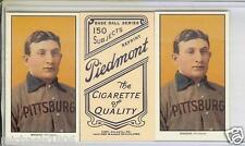"2 (Two) - ""HONUS WAGNER"" T-206 PIEDMONT TOBACCO REPRINT COLLECTIBLE PLAYER CARDS"