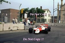 John Watson McLaren MP4B Winner Detroit Grand Prix 1982 Photograph 2