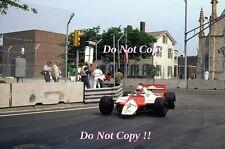 John Watson McLaren MP4B Winner Detroit Grand Prix 1982 Photograph 2