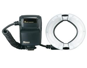 Nissin Digital MF18 Macro Ring Flash For Nikon Black From Japan