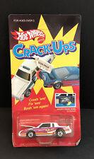 Hot Wheels Crack Ups Unpunched White Knocker Stocker Nib Good Condition