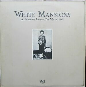 WHITE MANSIONS LP Inner Sleeve, Booklet A Tale From The American Civil War EX