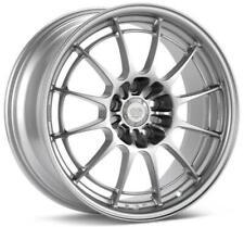 Enkei Nt03m 18x95 5x1143 27mm Offset Silver Wheel 3658956527sp