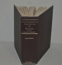 Handbuch der Physik von Condon und Odishaw 2nd Edition