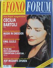 Fono Forum 10/05 cecilia bartoli, a. scholl, Emil Gilels, Tannoy arena, r. Levin