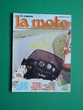 LA MOTO Aprile 1979 Guzzi V35/50 Le Mans SP Morini 500 Yamaha 125 YZ