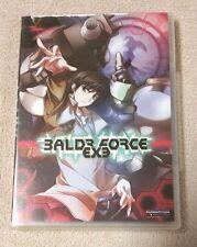 BALDR FORCE EXE Anime Complete 4 Episode OVA DVD Dub & Sub FUNIMATION EUC