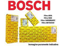 KIT DE 4 FILTROS ORIGINALES BOSCH ALFA ROMEO 159 1.9 JTDM 120 150 cv
