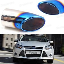 Blue Car Exhaust Muffler Tip Tail Pipe End Trim for Ford Focus 2011-2016 #1073