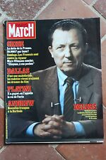 Paris Match 1766 Dallas Platini Andrew Andress W. Lam 1983
