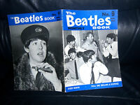FAB - ORIGINAL 1964 - OFFICIAL THE BEATLES Monthly Book No 9 Near MINT