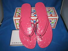 Coach Juney Flip Flop - Q1517 - Hibiscus  - 11M