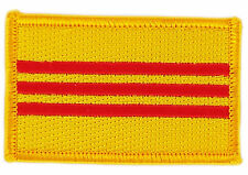 FLAG PATCH PATCHES SOUTH VIETNAM  IRON ON COUNTRY EMBROIDERED WORLD FLAG