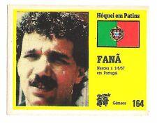 Vintage Portugese Golden Idols Sticker  Ice Hockey Player Fana