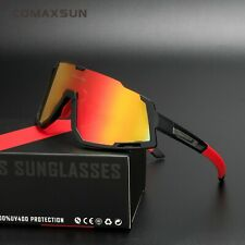 New Bike Professional Polarized Cycling Glasses Sports Sunglasses UV400 3 Lens