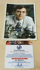 Carl Wieman 2001 Nobel Prize Physicist Original Autographed Photograph COA