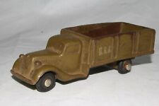 1930's Barr Rubber US Army Truck, Original