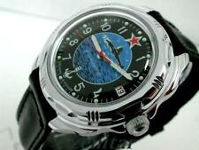 RUSSIAN MILITARY  VOSTOK   KOMANDIRSKIE SUBMARINE  WATCH  #211163  NEW