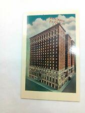 Vintage Postcard The Benjamin Franklin Hotel Philadelphia PA Chestnut at Ninth