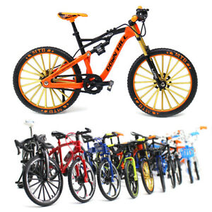 Alloy Simulation Bicycle Model Ornaments Mini Bicycle Toy Model Collection Gifts
