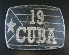 CUBA 19 CUBAN FLAG HAVANA CIGAR SOCIALIST REBEL BELT BUCKLE BOUCLE DE CEINTURE
