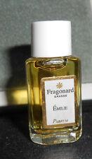 Fragonard Grasse Emilie Parfum Miniature 2ml True Perfume Fragrance Vanity Rare