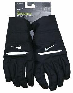 NIKE Running AEROSHIELD Men's Gloves Touchscreen Compatible Winter NWT MSRP $40