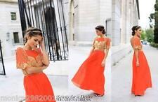 VIRGOS LOUNGE EVENING PARTY COCKTAIL WEDDING MAXI DRESS SIZE UK8/EUR36/US4