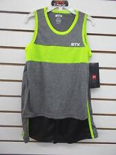 Boys Stx $32 Athletic Muscule Shirt & Shorts 2Pc. Set Sizes 4, 5/6 & 7