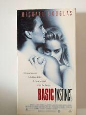 Basic Instinct  (VHS) Michael Douglas, Sharon Stone, Jeane Tripplehorn