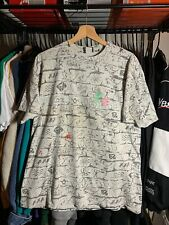 Vintage 90s Gecko Hawaii Mens T-shirt Size Large Short Sleeve All Over Print