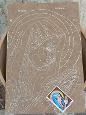 NUOVO Tavola Tavoletta legno compensato prestampata hobby mod Madonna