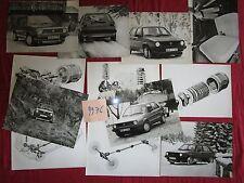 N°9976 / VOLKSWAGEN Golf Syncro  : 12  photos constructeurs fevrier 1986