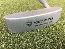 """Northwestern Tom Weiskopf 306 Putter  /  RH  /  ~35"""" Steel / Nice Grip  / mm4406"""
