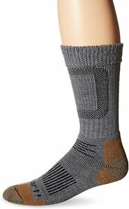 Carhartt Men's Merino Wool Comfort-Stretch Steel Toe Socks