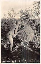 POSTCARD   ETHNIC    SOUTH   AFRICA   Little  Boy   Noisy  Parker    RP