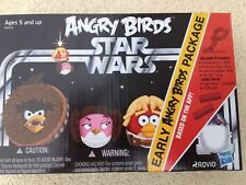 STAR WARS - EARLY ANGRY BIRDS PACKAGE CHEWBACCA PRINCESS LEIA LUKE R2-D2 (#4031)