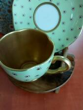 "tasse thè porcelaine Wedgwood Harlequin Collection ""Pois Dot Coupole & Soucoupe"""